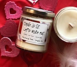 Candles make wonderful Valentine Gifts