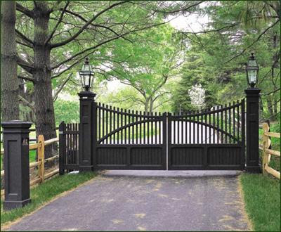 Gate Verde VA D - Get Entrance Gate Design For Small House Background
