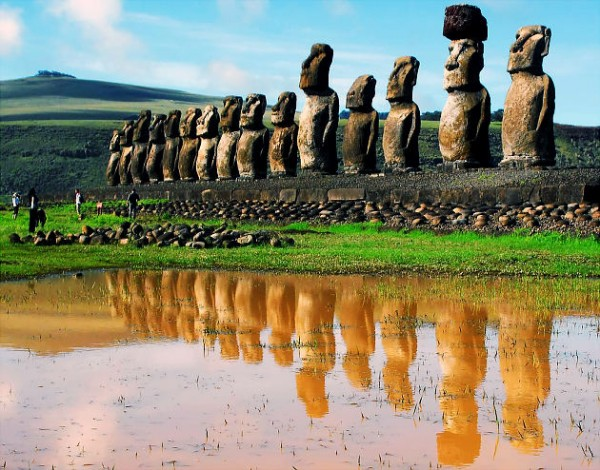 most famous unsolved mysteries of the world Easter Island