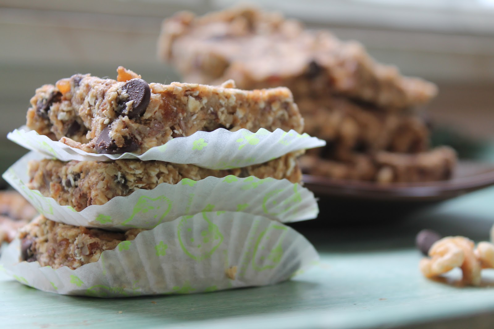 These (almost) raw breakfast bars are loaded with good stuff. Filled ...