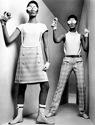 Fashion Signs Andre Courreges And The Moon Girl