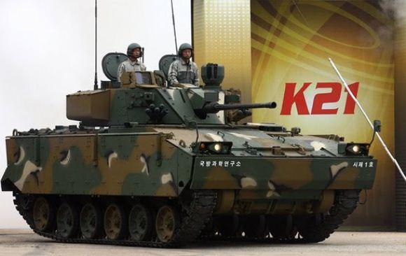Tank medium K21 Korea Selatan