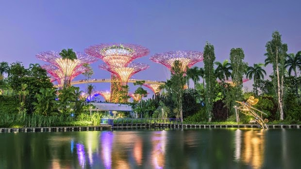 Gardens by the Bay, Singapura liataja.com