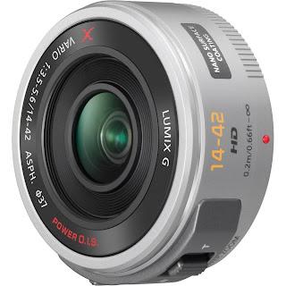 Panasonic Lumix G X Vario PZ 14-42mm/F3.5-5.6 Lens white