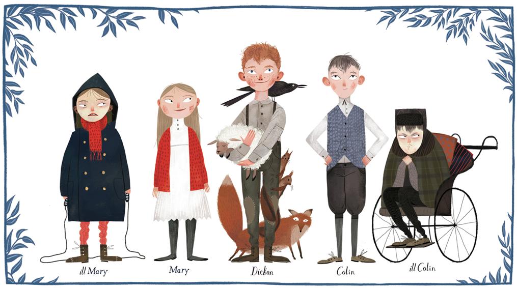 The Secret Garden Book Characters