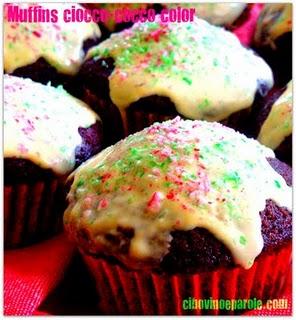 Muffins cioccolato con cocco ricetta