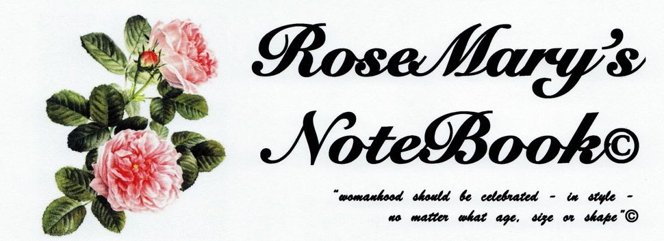 RoseMary's NoteBook©