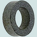 Photograph of ferrite ring