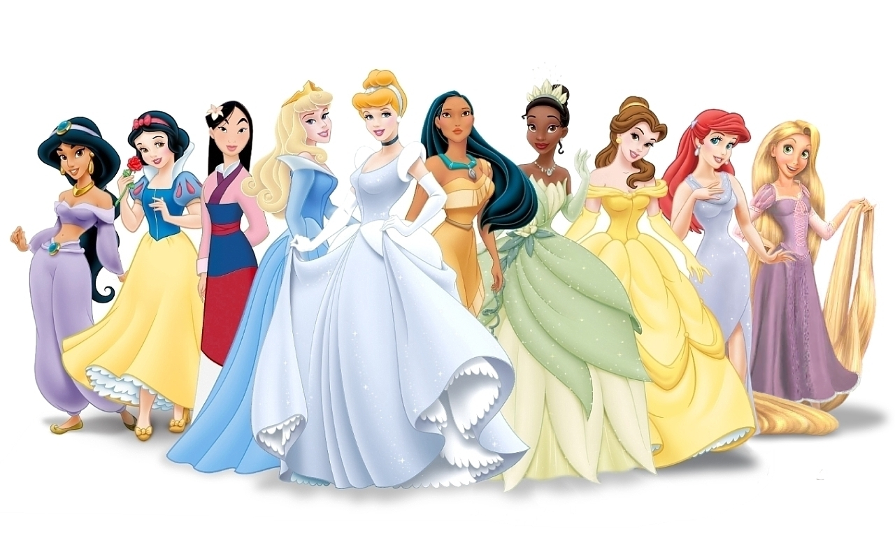 Disney Fairy Tale Princess Mutated To Twisted Princess