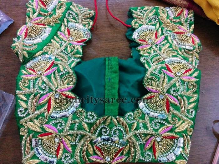 Zardosi Work Latest Attractive Blouses