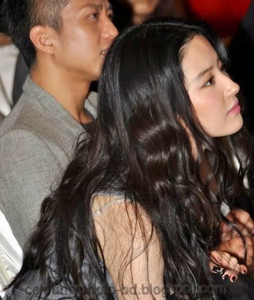 Chinese+actress+Liu+Yifei+Wearing+a+sexy+semi transparent+dress+Pics001