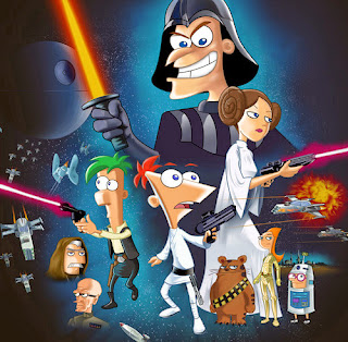 Phineas and Ferb incontrano Star Wars