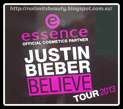 Beauty Beats de Essence - Girls on tour with Justin Biever