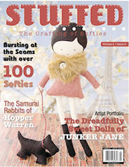 Featured in Stuffed magazine summer issue 2012