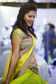 Aswi Glamorous Photos in Half Saree-thumbnail-12