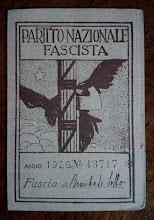 1925-TESSERA DEL FASCIO DI BREMBATE SOTTO