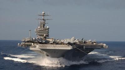 la proxima guerra uss stennis portaaviones al golfo persico siria iran