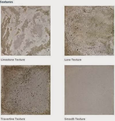 For a weathered, antiqued patina, add texture to your Rustic Cement Tile Pavers.
