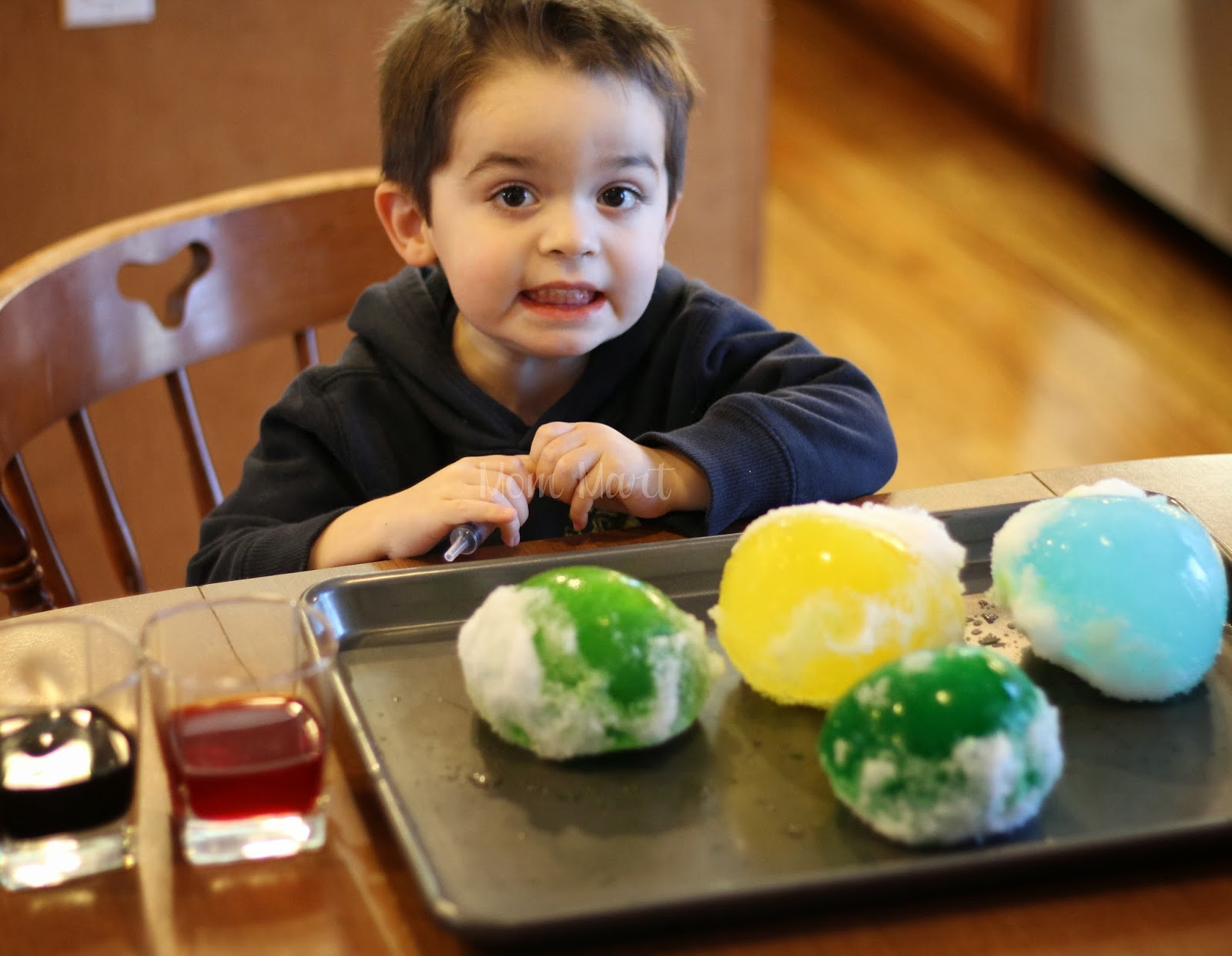 How to make ICE Marbles: A hands on Activity for children #CraftsForKids #KidCraft #Activity tutorial with game and science experiment and picture tutorial