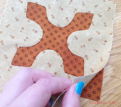 Dear Jane Quilt - Reverse Applique