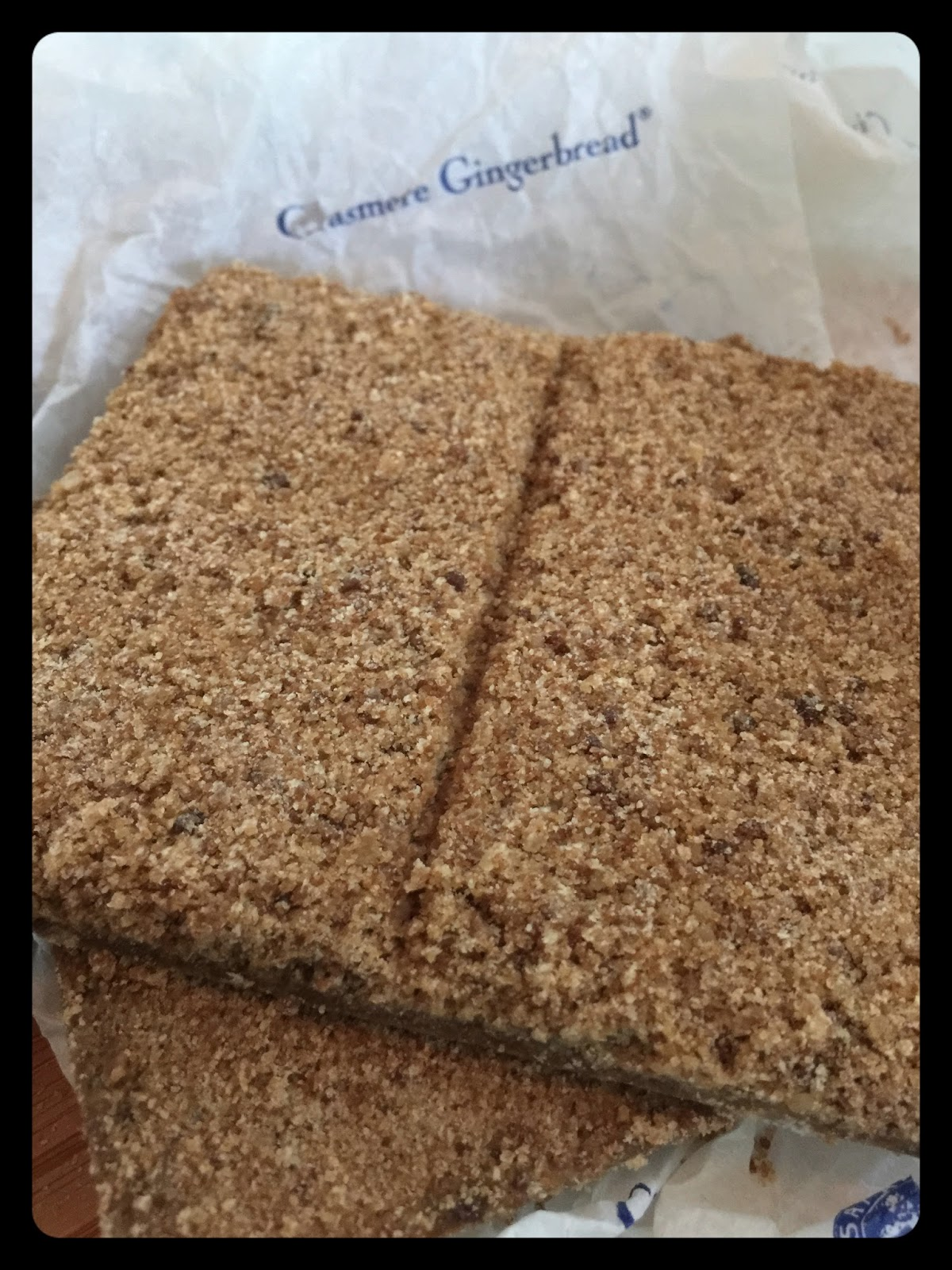 A Taste Of History With Joyce White Grasmere Gingerbread