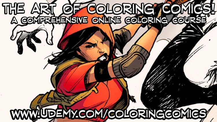 The Art Of Coloring Comics