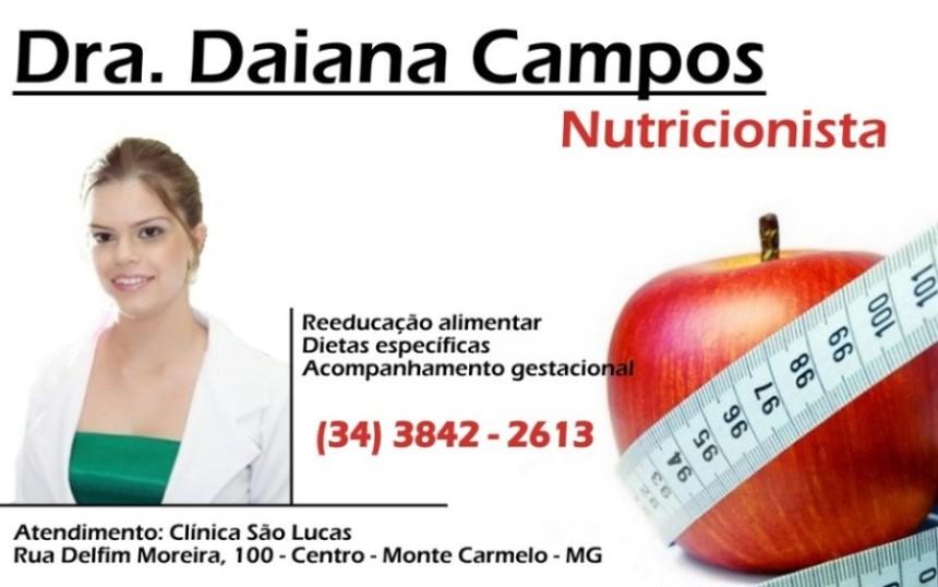Daiana Campos - Nutricionista
