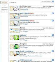 Cara Membuat Gadget di Blog