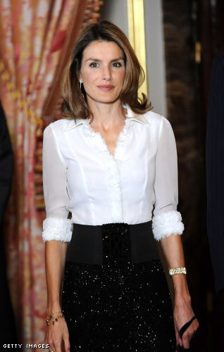Women I Admire - Another Classic Princess, Letizia of Spain
