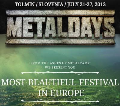 MetalDays 2013 @ Tolmin, Slovénie du 21 au 27/07/2013