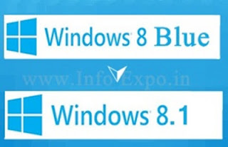 Windows blue also called Windows 8.1 will be the latest free update for windows 8