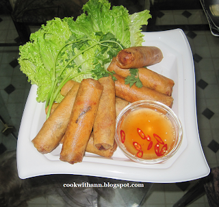 how to cook egg rolls in actifry