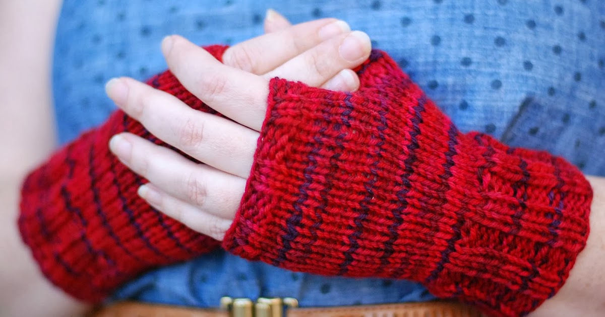 Knitting Classes : Home Ec Workshop: Knitting Class: Fingerless Mitts