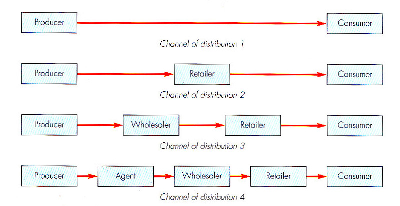 channel of distribution Channels are broken into direct and indirect forms a direct distribution channel is organized and managed by the firm itself an indirect distribution channel relies on intermediaries to perform most or all distribution functions, otherwise known as.