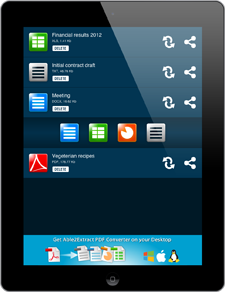 mobile and tablet pdf converter on the go