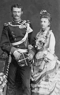 Duc Max Emanuel en Bavière et princesse Amalie de Saxe Cobourg et Gotha