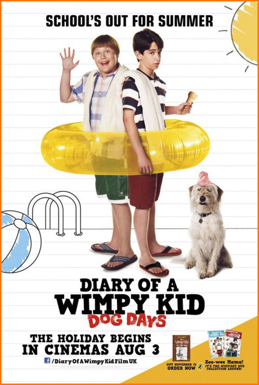 Diary Of A Wimpy Kid  Movies Dog Days