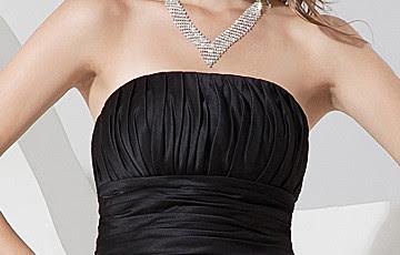 Fabuleux bretelles en satin plissé gainé de bal robe de bal