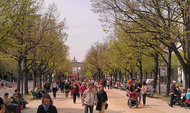 Unter Den Linden Avenue Berlin Germany