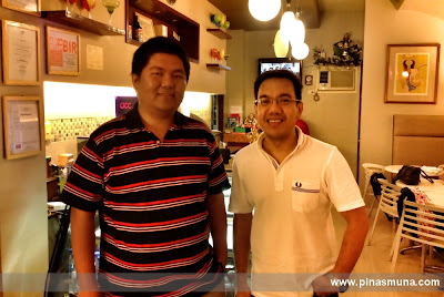 Dr. Victor Federico Acepcion owner of ACC Coffee & Crepe