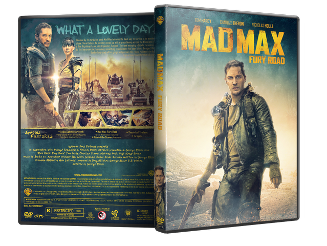 Capa DVD Mad Max Fury Road