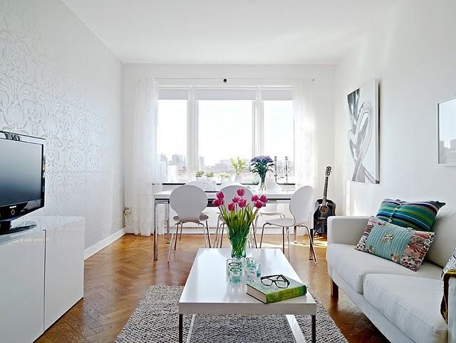 decoracao simples para ambientes pequenos : decoracao simples para ambientes pequenos:Granfina: Decoração para salas pequenas