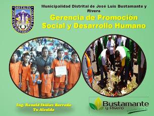 MUNICIPALIDAD DE JOSE LUIS BUSTAMANTE Y RIVERO
