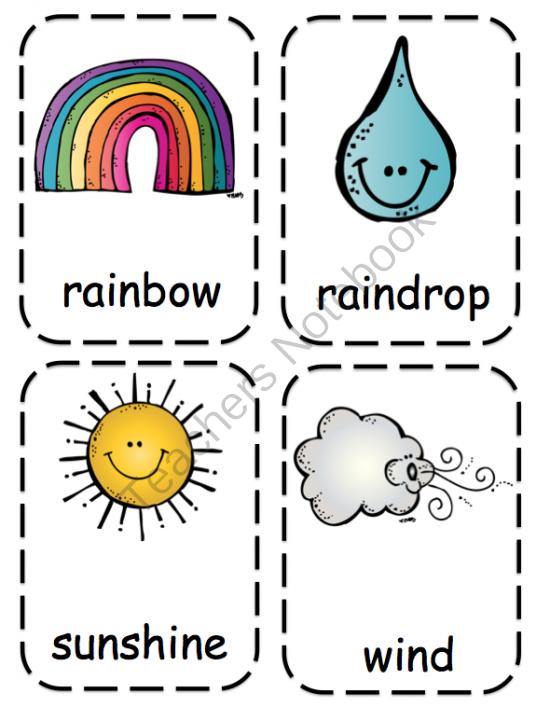 weather toddler printable - Toddler Printables