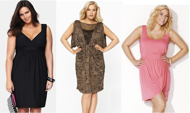 Sample Jersey Style Dresses for Plus Size Women