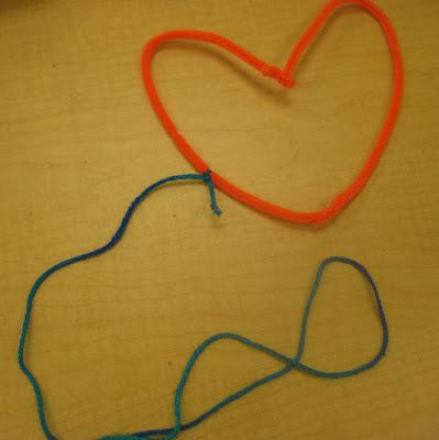 photo of: Heart Weaving by Kindergarten Children via RainbowsWithinReach
