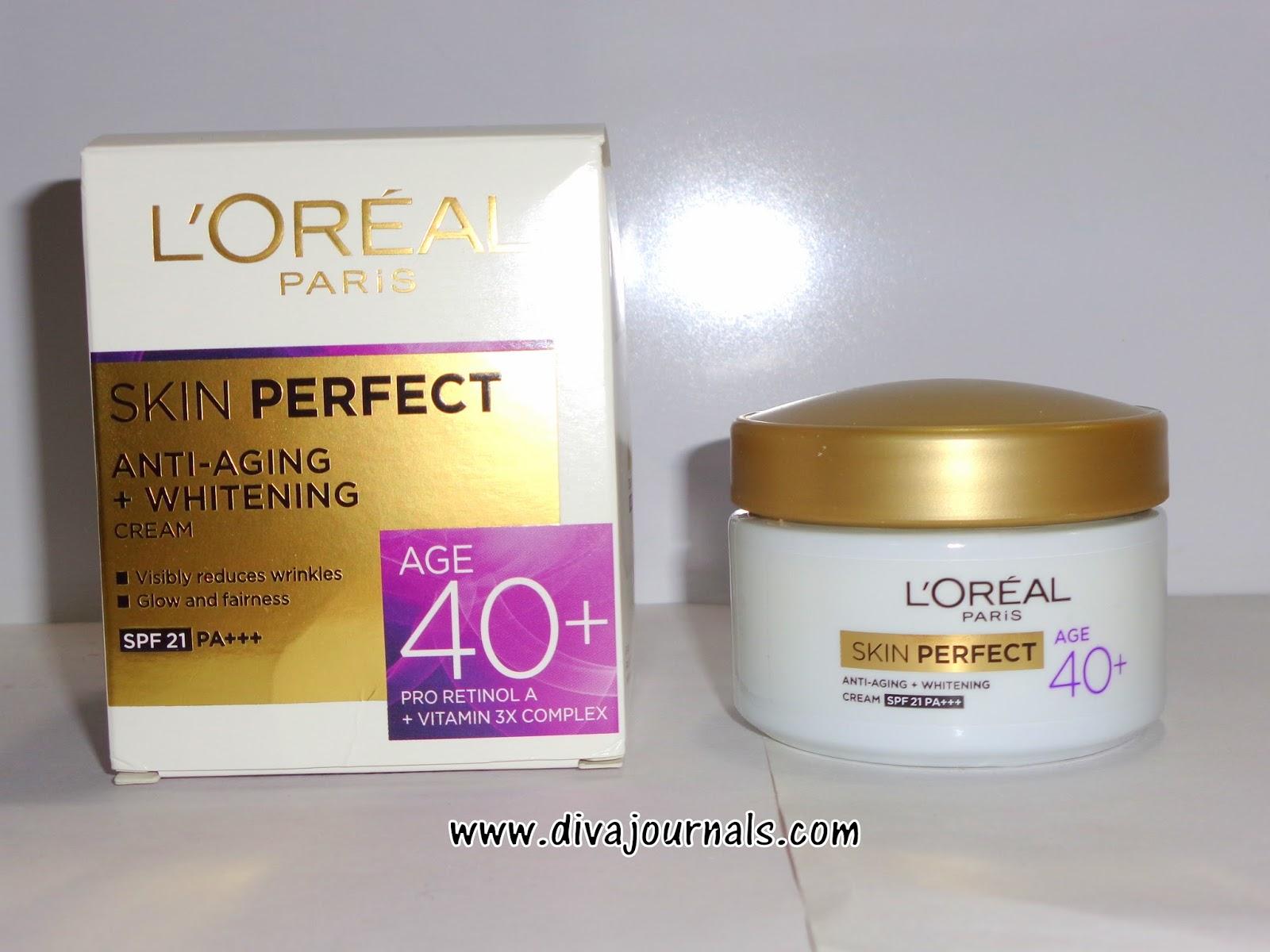Loreal Paris Skin Perfect Anti-Aging+Whitening Cream for Age 40+