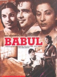 Download Old Hindi Movie Babul MP3 Songs, Download Babul Songs