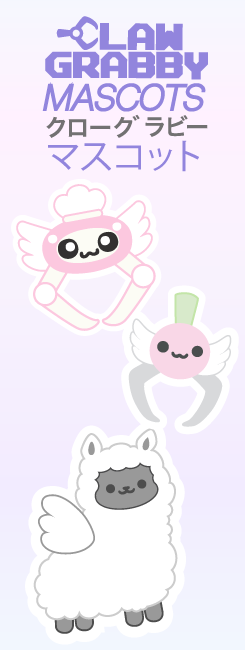 CLAW GRABBY MASCOTS