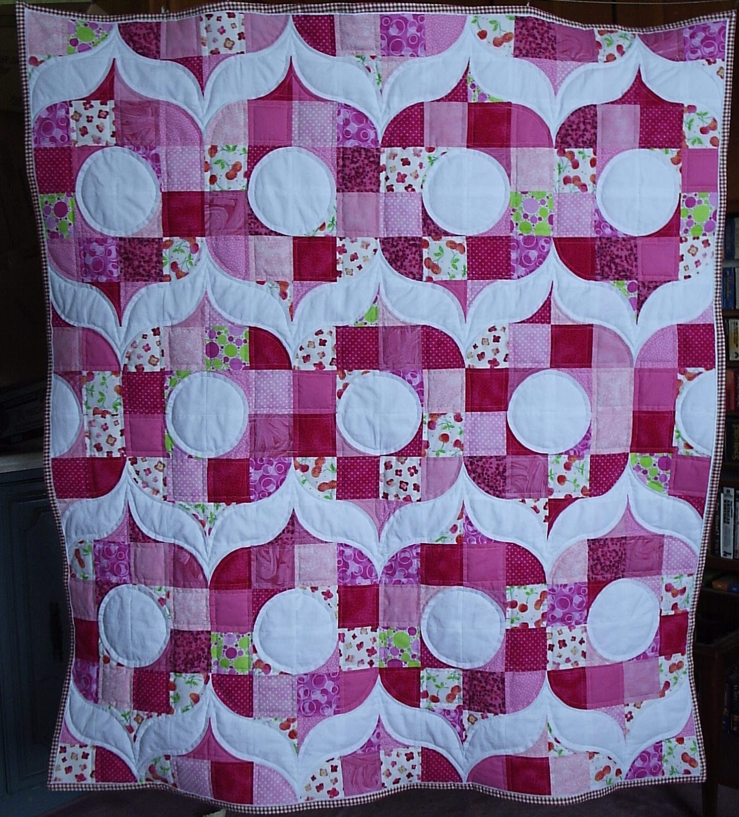 Sew fresh quilts blogger 39 s quilt festival spring 2013 for Retro baby fabric
